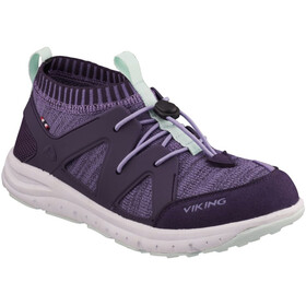 Viking Footwear Brobekk Chaussures Enfant, purple/violet
